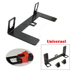 Universal ISOFIX Mount Base Autos Safety Seat Belt Bracket Latch 5mm Steel Handy