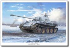 Armor Masterpiece by Mark Karvon - Panther Tank - Military Art Print