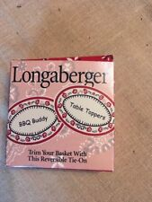 Longaberger BBQ Buddy / Table Toppers Basket Tie-On