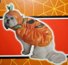 Pumpkin Pet Costume by Spooky Village, Size Small, New with tags
