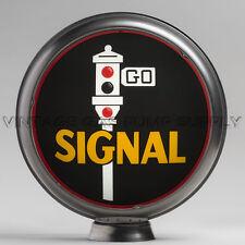 """Signal 13.5"""" Gas Pump Globe w/ Steel Body (G177)"""