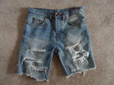 "Unbranded Denim Mid 7 to 13"" Inseam Shorts for Men"