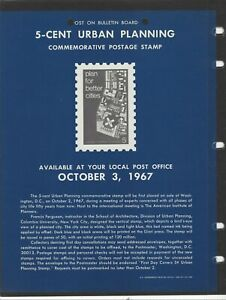 UNOFFICIAL SOUVENIR PAGE 5 CENT URBAN PLANNING NO STAMPS