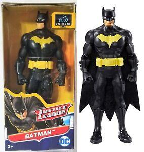 """DC Justice League Action 6"""" Inch BLACK SUIT BATMAN Action Super Hero Figure 2016"""