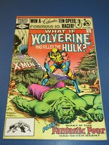 What If? #31 Bronze age FVF Beauty Hulk 181