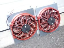 300ZX 90-96 TWIN TURBO TT EXTREME ELECTRIC COOLING FAN CUSTOM SYSTEM