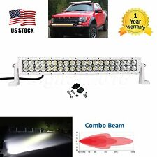 "32"" 180W CREE LED Work Light Bar Spot Flood Combo Beam White SUV Car Jeep 4WD"