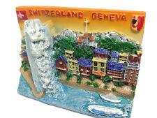 Geneva Switzerland Souvenir Collection 3D Fridge Refrigerator Magnet Gift 108