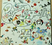 Rare Led Zeppelin III Gatefold Lp Greece Press 50002 Vinyl Ex Sleeve VG Atlantic