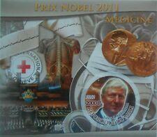 J.A. Hoffmann Nobel laureate Medicine science 2012 s/s IMPERF #P300