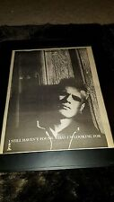 U2 I Still Haven't Found What I'm Looking For Rare Radio Promo Poster Ad Framed!