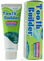 Squigle Tooth Builder Sensitive Toothpaste Fluoride Free No Added Flavor 4 oz