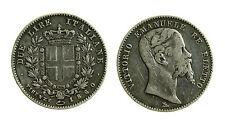 pcc1922) Vittorio Emanuele II Re Eletto (1859-1861) - 2 Lire 1860 FI - segnetto