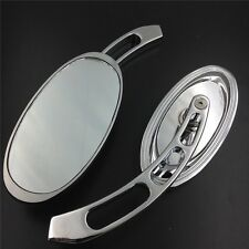 Custom Mirrors Fit all Harley-Davidson models Softail/Fat Boy/Road KingTe Chrome