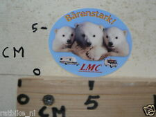 STICKER,DECAL LMC LORD-MUNSTERLAND CARAVAN CAMPER BARENSTARK