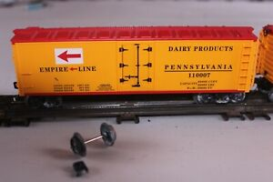 Three (3) O-Gauge Empire Line / Pennsylvania Boxcars (Auction#213)