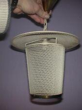 Suspension lanterne en fer déployé Mategot Vintage 50/60's, genre tôle perforée