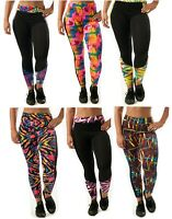 American Fashion Printed Yoga Workout  Leggings Pants One Size