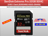 SanDisk 32GB Extreme PRO SDHC UHS-I Memory Card (SDSDXXG-032G-GN4IN)