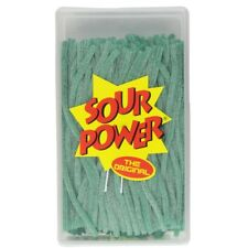 Sour Power Green Apple Candy Straws 200 count by Dorval Over 3 lbs