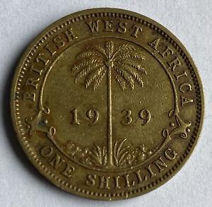 British West Africa 1 Shilling 1939 (KM#23)