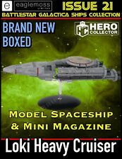 More details for eaglemoss battlestar galactica: loki heavy cruiser issue 21 - brand new in stock