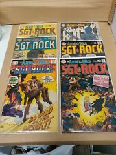 Lot of 6 DC Comics Our Army At War SGT ROCK