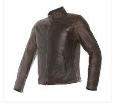 Dainese Mike pelle testa di moro giacca moto brown Motorrad Lederjacke