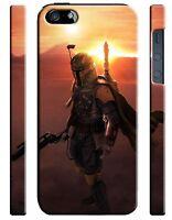 Star Wars 2015 Boba Fett Iphone 4s 5 6 7 8 X XS Max XR 11 Pro Plus Case ip3