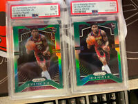 2019 Panini Prizm Green Prizm #274 Kevin Porter Jr RC PSA 9 Lot Of 2