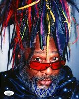 "GEORGE CLINTON Authentic Hand-Signed ""PARLIAMENT"" 8x10 photo (JSA COA)"