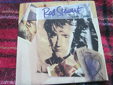 "Rod Stewart  Broken Arrow Warner W0059DJ PROMO DJ Edit UK Vinyl 7"" 45 single"