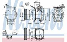 NISSENS Compresseur de climatisation 12V pour KIA SPORTAGE HYUNDAI TUCSON 89265