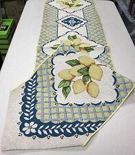 Lemon Delight Tapestry Table Runner