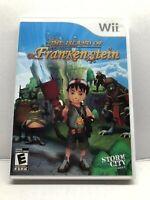 Island of Dr. Frankenstein (Nintendo Wii, 2009) Complete Tested Working