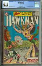 HAWKMAN #1 CGC 7.0 OW/WH PAGES