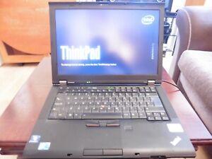 """IBM Lenovo ThinkPad T410 14"""" LAPTOP CORE Intel i7 2.66GHz 4GB RAM NO-HDD read 1"""