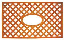 pannello grigliato in legno con ovale cm 150x90h fioriera per esterno