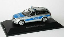 MERCEDES C CLASS S204 ESTATE POLIZEI GERMAN POLICE CAR 1:43 SCHUCO DEALER MODEL