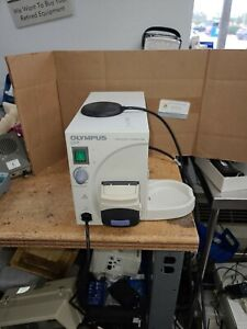 Olympus OFP Endoscopic Flushing Pump pictured working