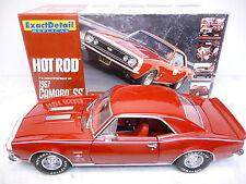 Lane Exact Detail 220 1:18 Chevrolet Camaro SS Edelbrock 1967 Rouge Top Dans neuf dans sa boîte