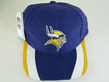 NOS w/TAG Minnesota Vikings Embroidered Baseball Hat Cap Official NFL Game Day