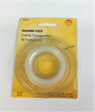 Hillman 123002 Craft and Hobbies Picture Hanging Invisible Nylon Cord 25 FT.