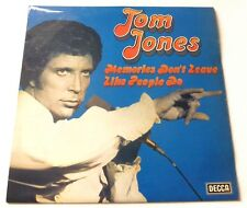 Tom Jones - Memories don't leave like people do   UK VINYL LP