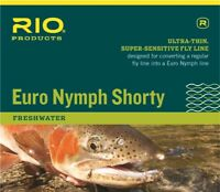 NEW RIO EURO NYMPH SHORTY #2-5 WEIGHT 20' FOOT CZECH NYMPH FLOATING FLY LINE