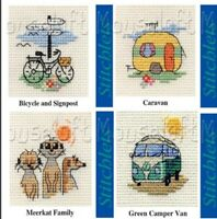 Tiny Mouseloft Stitchlets Counted Cross Stitch Kits-  fit within a 6.4cm circle