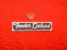 A Nice Replacement Fender Tweed Deluxe Amp Logo