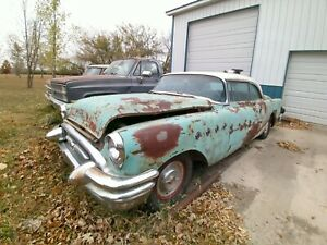1955 Buick Roadmaster Rivera 2 Dr V8 automatic, power windows, power bench seat