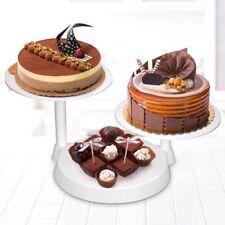Présentoir gâteau Support à gâteau a etage 3 étages Blanc pour Gâteau de Mariage