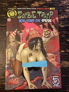 Zombie Tramp New Years Special #1 (Action Lab) Free Combine Shipping